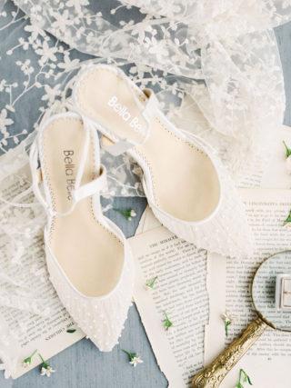 Wedding shoes flats