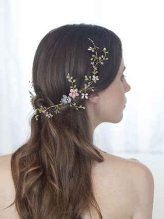 Luxuriant Floral Hair Garland