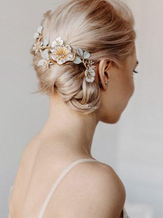 Perrine Blossom Hair Vine