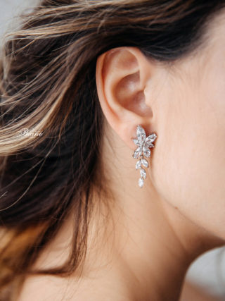 Leta Cubic Zirconia Earrings
