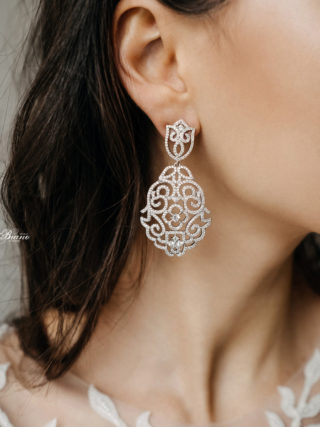 Bice Crystal Chandelier Earrings
