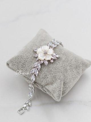 Amara Floral Cubic Zirconia Bracelet