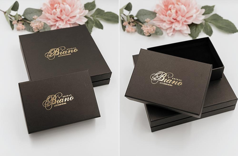 Wedding bridal accessory jewelry box