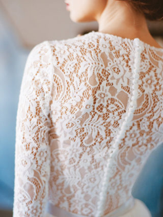 Orion Long Sleeve Lace Wedding Dress