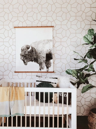 Monty Nursery Wallpaper