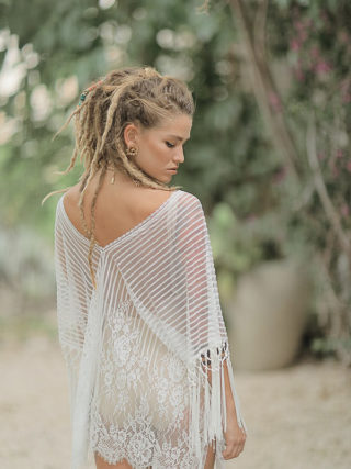 Boho Beach Fringe Cover Up
