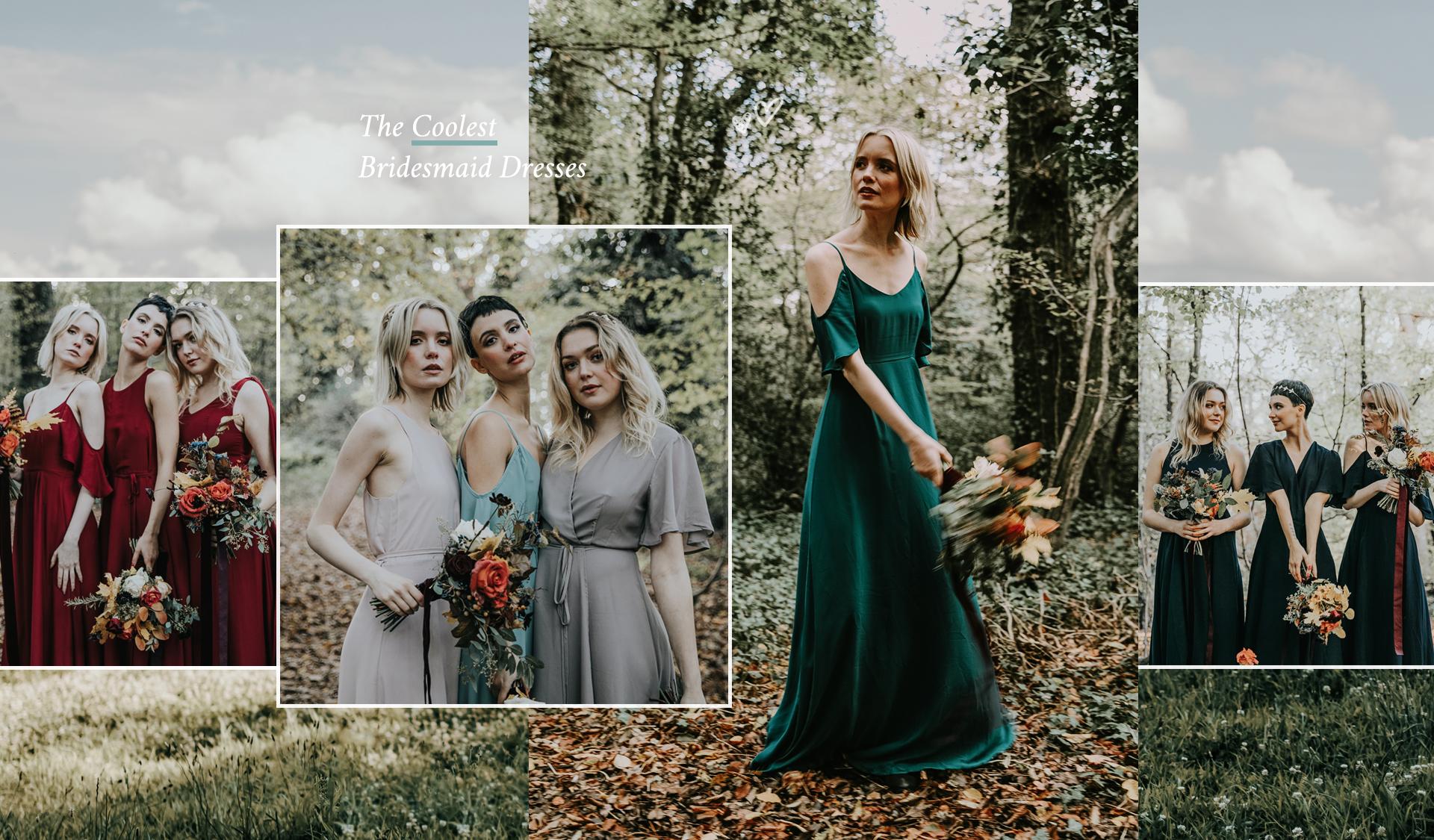 Cool Modern Bridesmaid Dresses