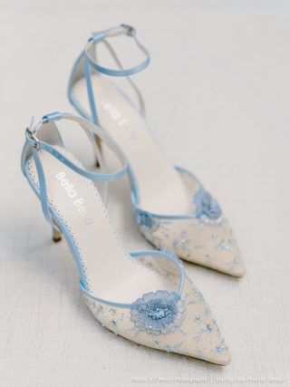 Norah Flower Shoes with Sequined Petals